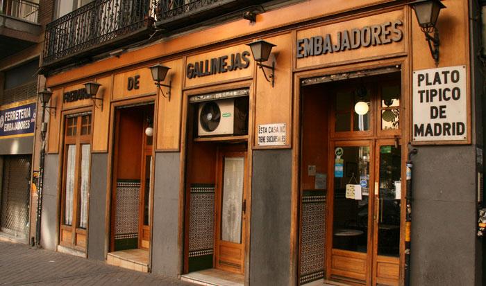 Freiduría_de_Gallinejas_woohoo_hostal_madrid