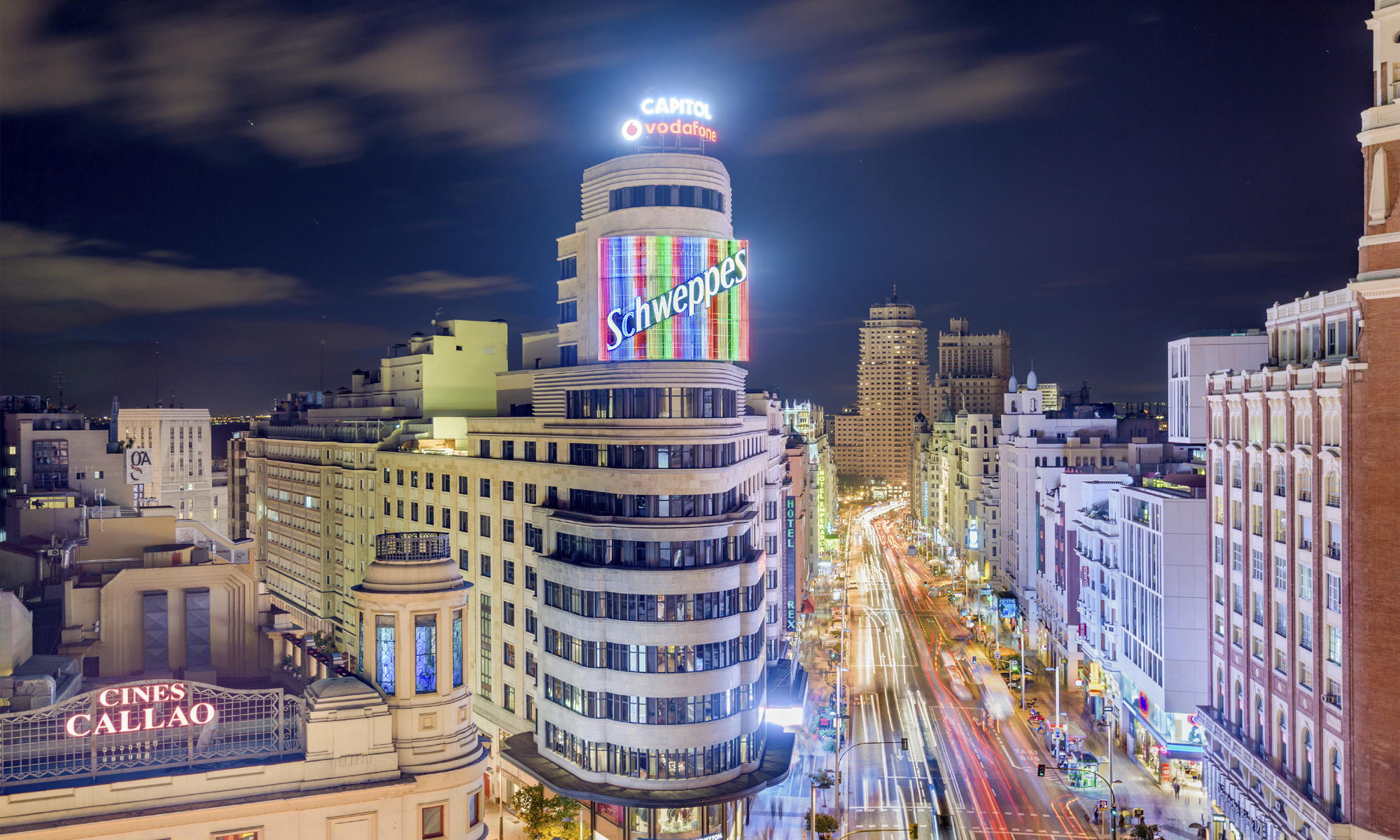hostales en la gran via madrid: