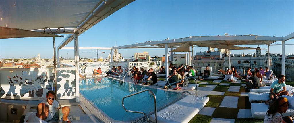 Terrazas en madrid woohoo madrid for Room mate oscar piscina