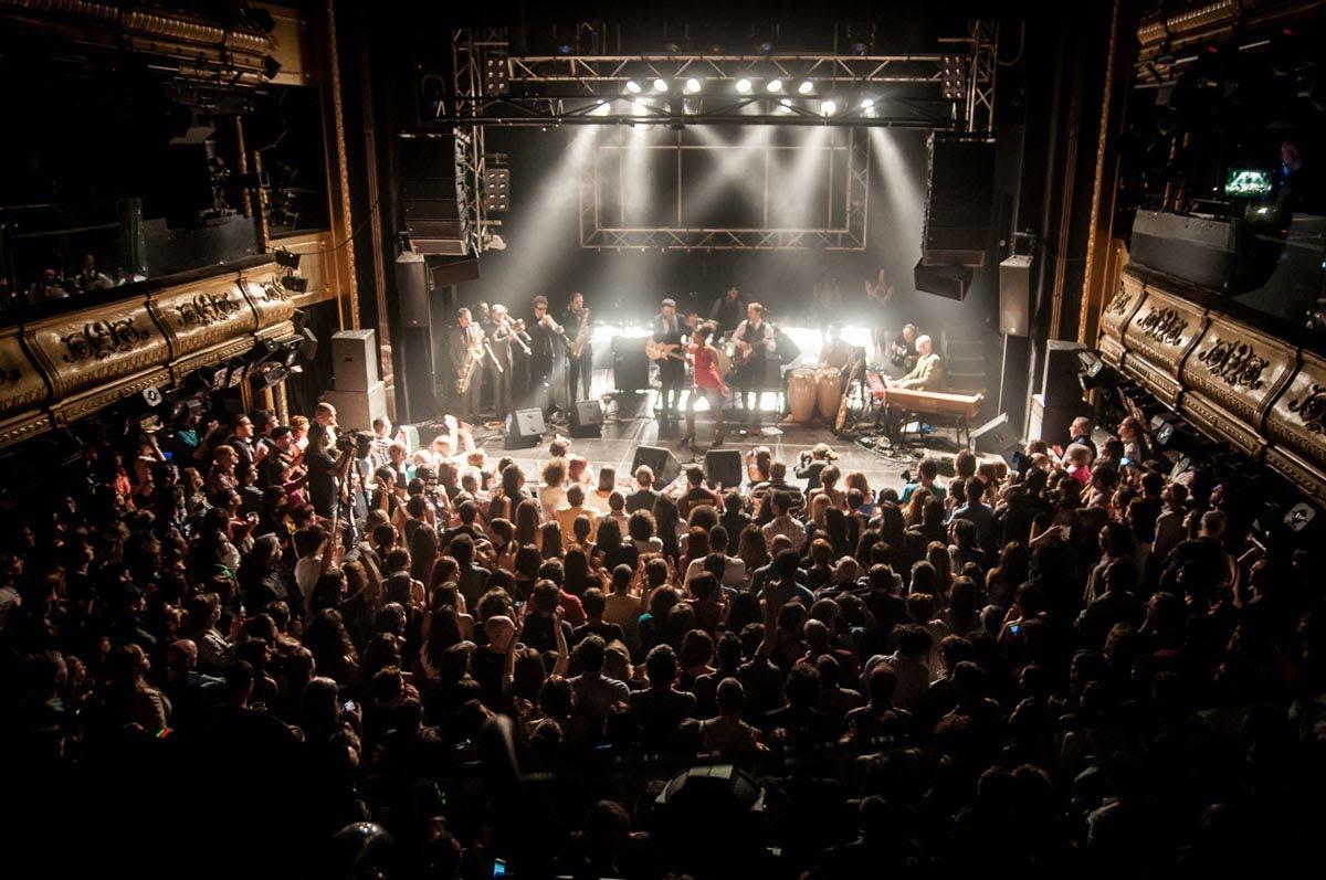 las mejores salas de concierto en madrid